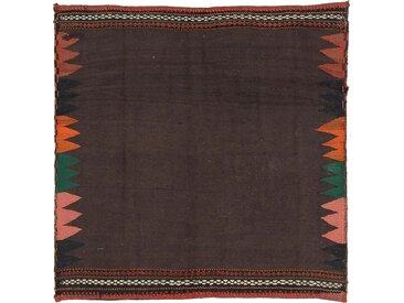 Kelim Fars Antik Teppich Orientalischer Teppich 149x145 cm, Quadrat Handgewebt Klassisch