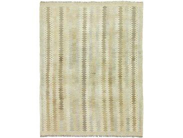Kelim Afghan Heritage Teppich Orientteppich 195x150 cm Handgewebt Design Modern