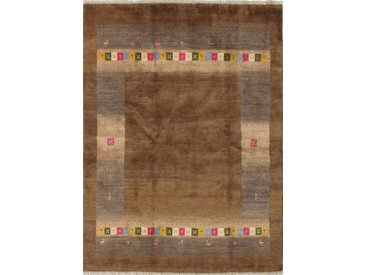 Perser Gabbeh Loribaft Teppich Persischer Teppich 200x148 cm Handgeknüpft Modern