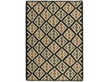 Kelim Fars Teppich Perserteppich 199x142 cm Handgewebt Klassisch