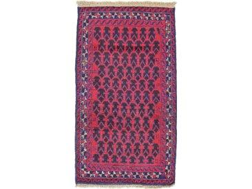 Belutsch Teppich Orientalischer Teppich 134x79 cm Handgeknüpft Klassisch