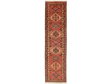 Gharadjeh Teppich Orientteppich 281x72 cm, Läufer Handgeknüpft Klassisch
