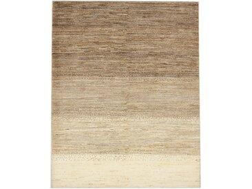 Perser Gabbeh Loribaft Teppich Perserteppich 190x144 cm Handgeknüpft Modern