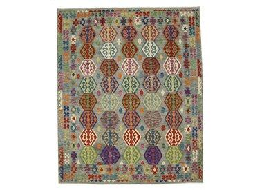 Kelim Himalaya Teppich Orientalischer Teppich 302x250 cm Handgewebt Klassisch