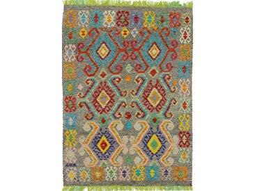 Kelim Afghan Heritage Teppich Orientalischer Teppich 153x107 cm Handgewebt Design Modern