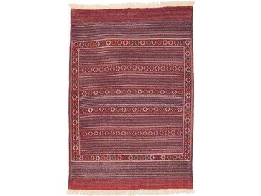 Kelim Kordi fine Teppich Orientalischer Teppich 195x131 cm Handgewebt Klassisch