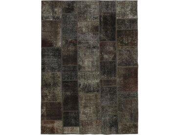 Patchwork Teppich Perserteppich 241x168 cm Handgeknüpft Modern