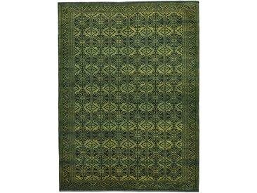 Perser Design Gabbeh Loribaft Teppich Persischer Teppich 204x151 cm Handgeknüpft Design Modern