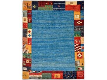 Perser Gabbeh Kashkuli Teppich Orientteppich 201x159 cm Handgeknüpft Modern