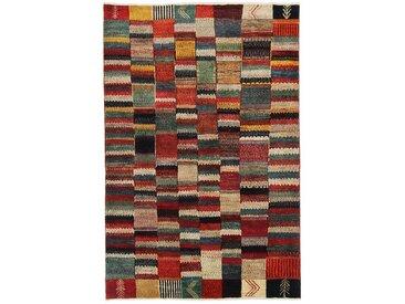 Perser Gabbeh Loribaft Teppich Persischer Teppich 210x140 cm Handgeknüpft Modern