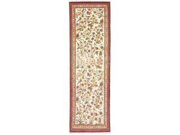 Ghom Kork Teppich Orientteppich 210x65 cm, Läufer Handgeknüpft Klassisch