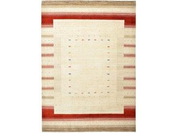 Gabbeh Loribaft Design Teppich Orientalischer Teppich 346x244 cm, Indien Handgeknüpft Design Modern