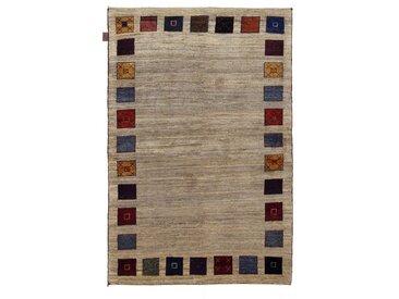 Perser Gabbeh Loribaft Teppich Orientalischer Teppich 156x102 cm Handgeknüpft Modern