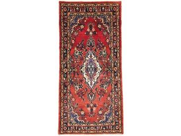 Hamadan Teppich Orientalischer Teppich 181x86 cm, Läufer Handgeknüpft Klassisch