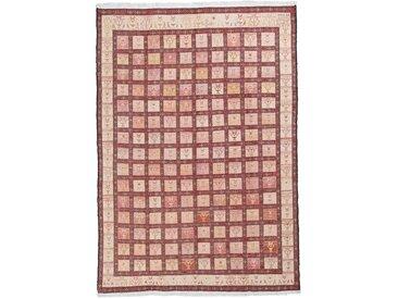 Kelim Fars Seide Teppich Orientteppich 277x199 cm Handgewebt Klassisch