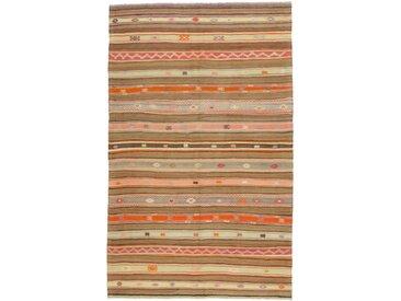 Kelim Fars Antik Teppich Persischer Teppich 251x153 cm Handgewebt Klassisch