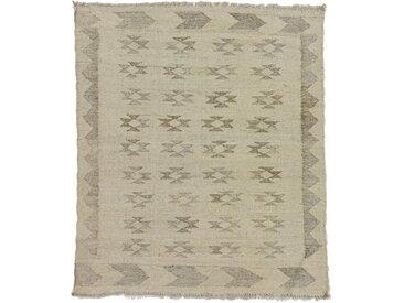Kelim Afghan Heritage Teppich Orientteppich 105x90 cm Handgewebt Design Modern