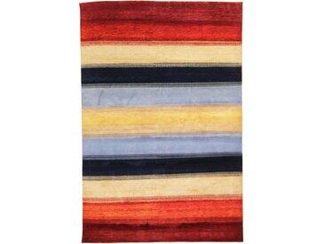 Gabbeh Loribaft Teppich Orientalischer Teppich 302x204 cm, Indien Handgeknüpft Modern