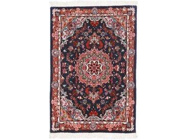 Täbriz 50Raj Teppich Orientalischer Teppich 91x59 cm Handgeknüpft Klassisch