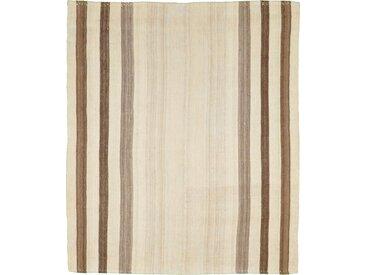 Kelim Fars Mazandaran Teppich Orientalischer Teppich 169x146 cm Handgewebt Klassisch