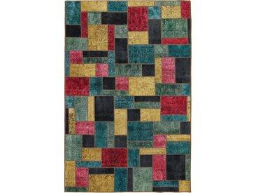 Patchwork Teppich Orientteppich 299x197 cm Handgeknüpft Modern