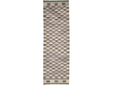Kelim Fars Design Kandou Teppich Perserteppich 293x91 cm, Läufer Handgewebt Klassisch