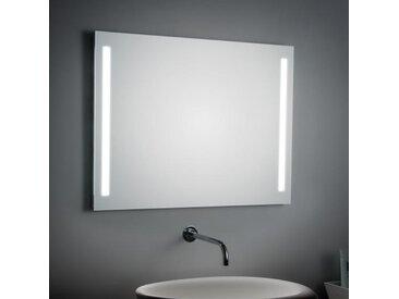 Spiegel mit seitlicher LED-Beleuchtung