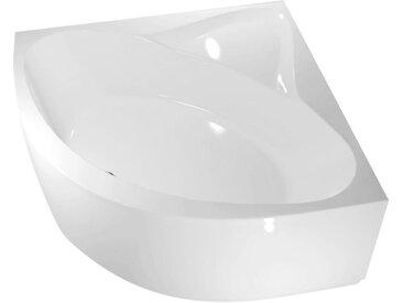 ANGLESEY Eckwanne 150x150x42cm, ohne Füße, weiß