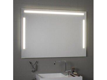 Spiegel mit LED-Ober- und Seitenbeleuchtung