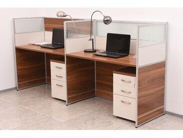 Moderner Schreibtisch für 2 Personen EVOLUTIO 20A