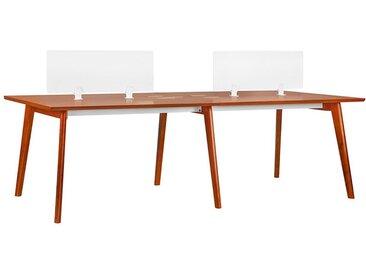 Modernes Büro-Set für 4 Personen EVOLUTIO B105