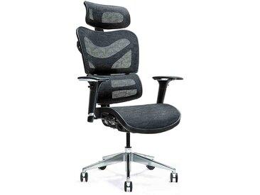Ergonomischer Bürosessel ERGO 600 Schwarz