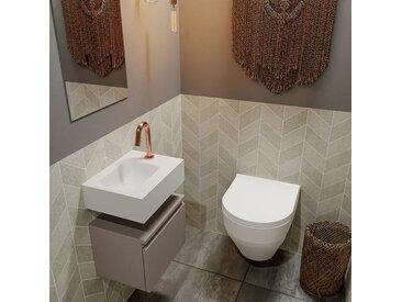 waschtisch set gäste wc ANDOR 40 cm taupe FK75343189