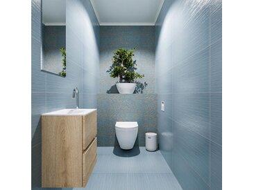 waschtisch set gäste wc ADA 40 cm eiche FK75341971