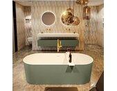 badewanne mineralwerkstoff serie nobel 180 cm außen army grün...