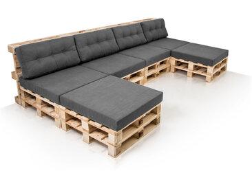 PALETTI Sofalandschaft Sofa aus Paletten Fichte, Fichte natur