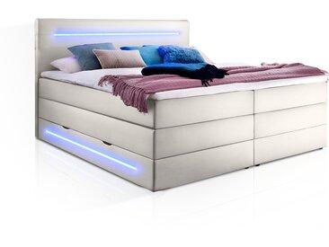 LONNI II Boxspringbett mit Bettkasten und integrierter...