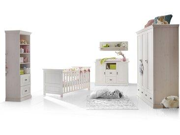 ODETTE Babyzimmer, Material Massivholz, Kiefer weiss