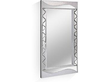 GLAM Wandspiegel 152x78 cm, Material Metall