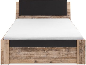 MEGGIE Bett 140x200 cm, Material Dekorspanplatte, Old Style...