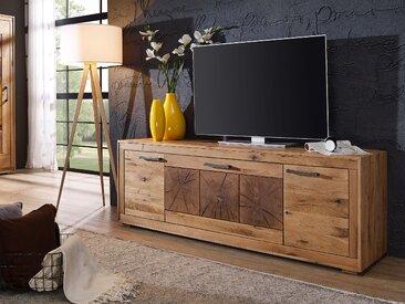 WINSTON III TV-Element, Material Massivholz, Wildeiche geölt