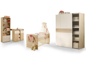 TINA Babyzimmer, Material Dekorspanplatte, Eiche sonomafarbig...
