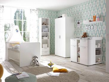 BAMBINO Komplett Babyzimmer 5-teilig, Material...