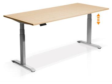 OFFICE ONE elektrisch höhenverstellbarer Schreibtisch  /...