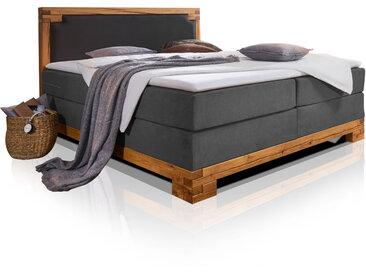 BELLAMIE Boxspringbett mit massivem Holzrahmen, 180 x 200 cm