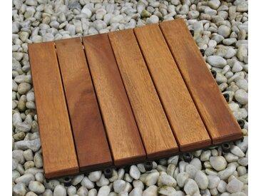 Holzfliese 30 x 30 cm Akazie geölt Modell 01