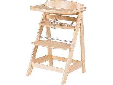 Treppenhochstuhl 'Sit Up FUN', inkl. abnehmbarem Essbrett und Bügel, mitwachsend, natur