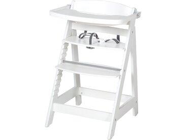 Treppenhochstuhl 'Sit Up FUN', inkl. abnehmbarem Essbrett und Bügel, mitwachsend, weiß
