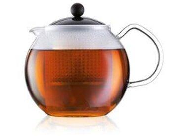 Teebereiter mit Glasgriff und Deckel, ca. 1 l