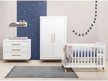 Bopita Fenna Babybett 60 x 120 cm inkl. Lattenrost höhenverstellbar